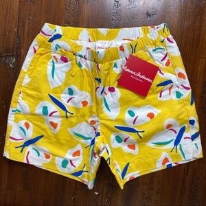 Hanna Andersson NWT Girls Butterfly Shorts 120/6-7
